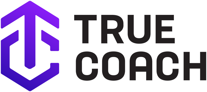 truecoach logo stacked